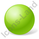 Ball Chartreuse Icon, PNG/ICO, 128x128