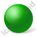 Ball Green Icon