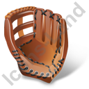 Baseball Glove Icon, PNG/ICO, 128x128
