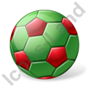 Beach Soccer Ball Icon, PNG/ICO, 128x128