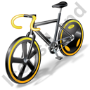 Bicycling Track Bike Icon