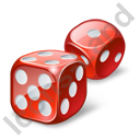 Casino Dices Icon
