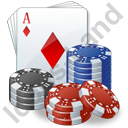 Casino Poker 3D Icon