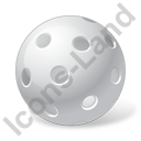 Floorball Ball Icon, PNG/ICO, 128x128