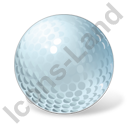 Golf Ball Icon, PNG/ICO, 128x128
