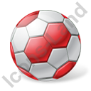 Handball Ball Icon, PNG/ICO, 128x128
