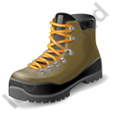 Hiking Boots Icon, PNG/ICO, 128x128