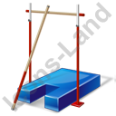 Jumping Pole Vault Crossbar Icon
