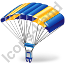 Parachuting Parachute Icon