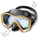 Snorkeling Diving Mask Icon