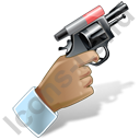 Starting Pistol Icon, PNG/ICO, 128x128