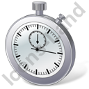 Stopwatch 3D Icon, PNG/ICO, 128x128