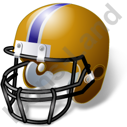 American Football Helmet Icon, PNG/ICO, 256x256