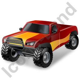 Auto Racing OffRoad Truck Icon
