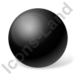 Ball Black Icon