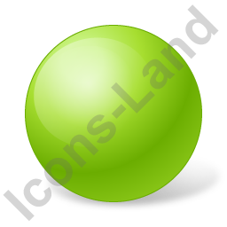 Ball Chartreuse Icon, PNG/ICO, 256x256