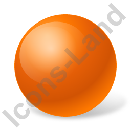 Ball Orange Icon