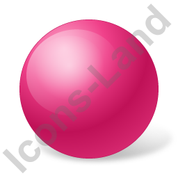 Ball Pink Icon, PNG/ICO, 256x256
