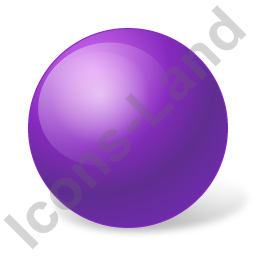 Ball Violet Icon, PNG/ICO, 256x256