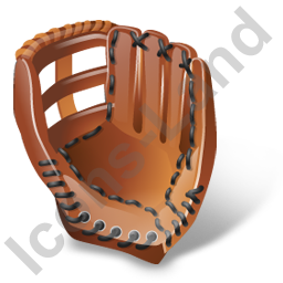 Baseball Glove Icon, PNG/ICO, 256x256