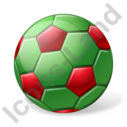 Beach Soccer Ball Icon, PNG/ICO, 256x256