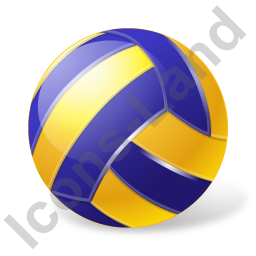 Beach Volleyball Ball Icon