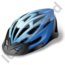 Bicycling Helmet Icon
