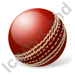 Cricket Ball Icon, PNG/ICO, 256x256