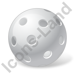 Floorball Ball Icon, PNG/ICO, 256x256