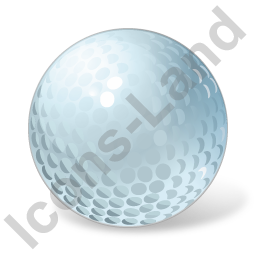 Golf Ball Icon, PNG/ICO, 256x256