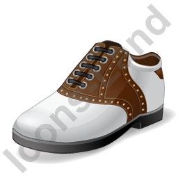 Golf Shoes Icon, PNG/ICO, 256x256