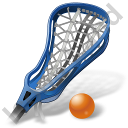 Lacrosse Stick Ball Icon, PNG/ICO, 256x256
