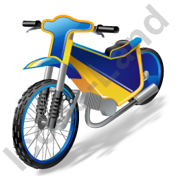 Moto Racing Speedway Motorcycle Icon, PNG/ICO, 256x256