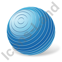 Rhythmic Gymnastics Ball Icon, PNG/ICO, 256x256