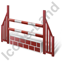 Show Jumping Obstacle Icon