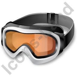 Skiing Goggles Icon