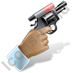 Starting Pistol Icon, PNG/ICO, 256x256