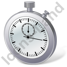 Stopwatch 3D Icon, PNG/ICO, 256x256