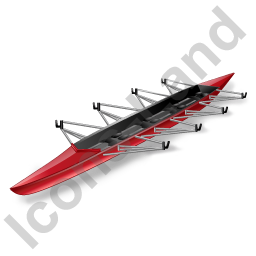 Watercraft Rowing Racing Shell Icon