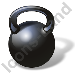 Weight Training Kettlebell Icon