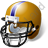 American Football Helmet Icon, PNG/ICO, 48x48