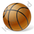 Basketball Ball Icon, PNG/ICO, 48x48