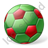 Beach Soccer Ball Icon, PNG/ICO, 48x48
