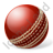 Cricket Ball Icon, PNG/ICO, 48x48