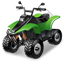 ATV Racing QuadBike Icon