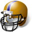 American Football Helmet Icon, PNG/ICO, 64x64