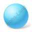 Ball Azure Icon