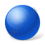 Ball Blue Icon
