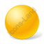 Ball Yellow Icon