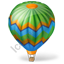 Ballooning Balloon Icon